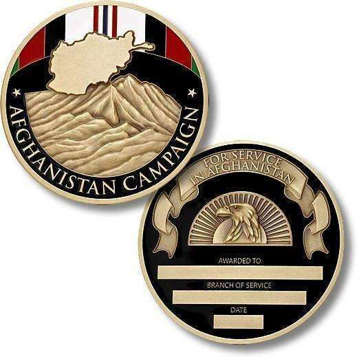 OPSGEAR:Afghanistan Campaign Service Medal Coin