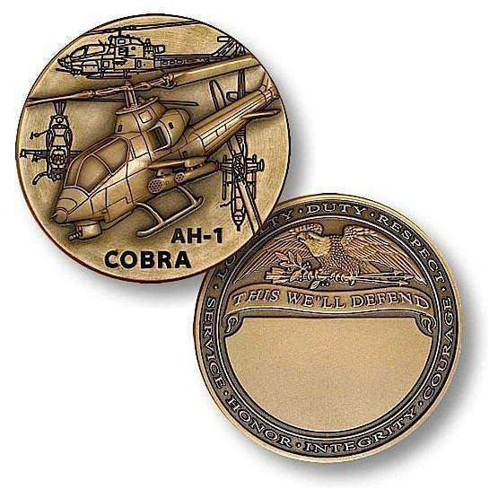 OPSGEAR:AH-1 Cobra Engravable Challenge Coin