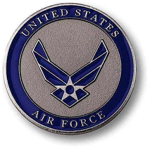OPSGEAR:Air Force Adhesive Medallion Challenge Coin