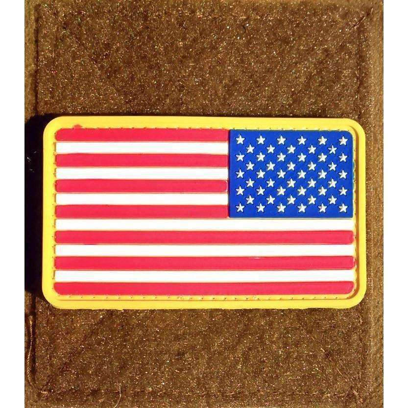 OPSGEAR:American Flag Stars Right PVC Morale Patch
