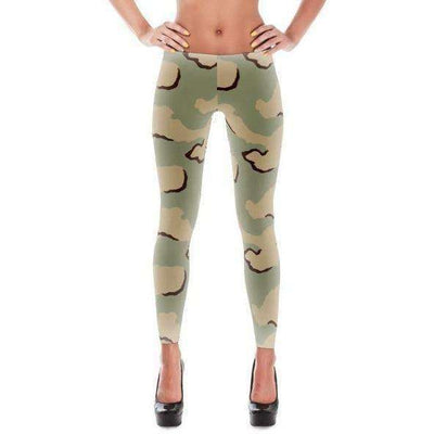OPSGEAR:American Three Color Desert CAMO All-Over Leggings