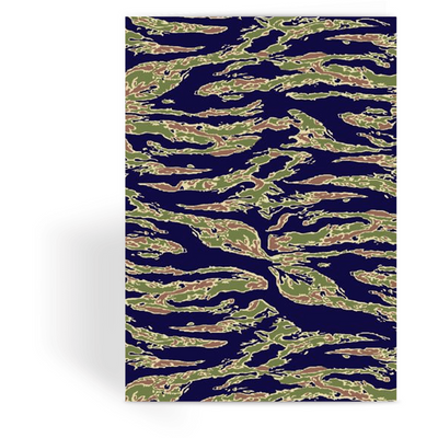 OPSGEAR:American Tiger Stripe Blue CAMO Greeting Card