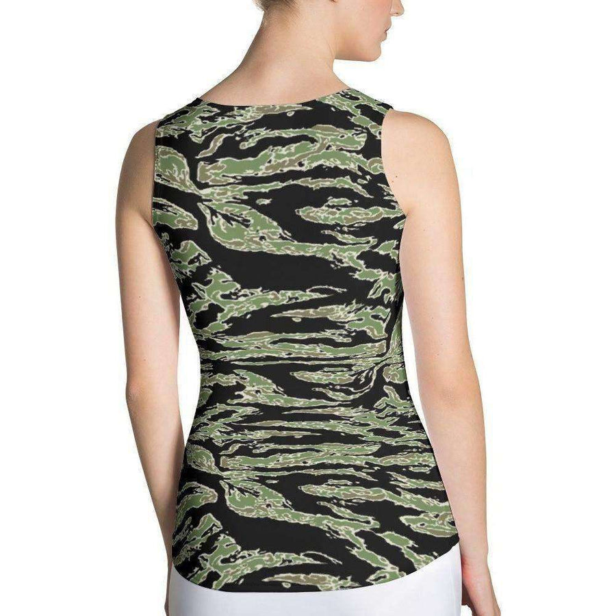 OPSGEAR:American Tiger Stripe CAMO Sublimation Cut & Sew Tank Top