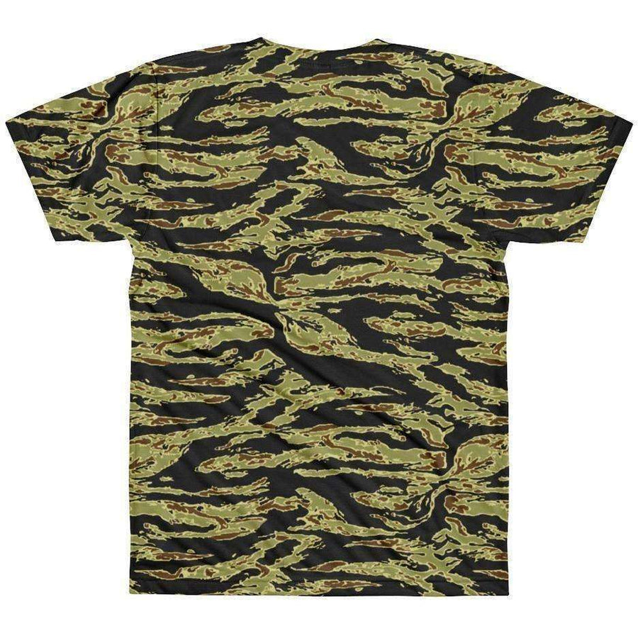 OPSGEAR:American Tiger Stripe Gold CAMO T-Shirt