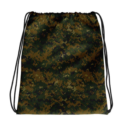 OPSGEAR:American USMC Woodland Digital CAMO Drawstring bag