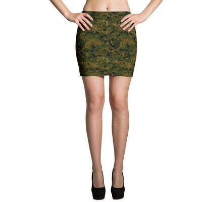 OPSGEAR:American USMC Woodland Digital CAMO Mini Skirts