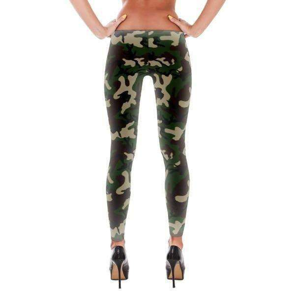 OPSGEAR:American Woodland Camo All-Over Leggings