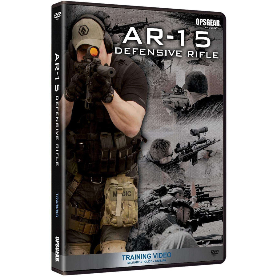 OPSGEAR:AR-15 Defensive DVD