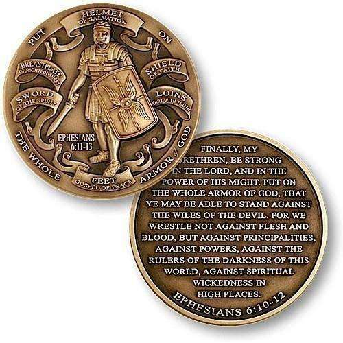 OPSGEAR:Armor of God High Relief Coin