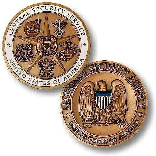 OPSGEAR:Army Central Security Service Challenge Coin