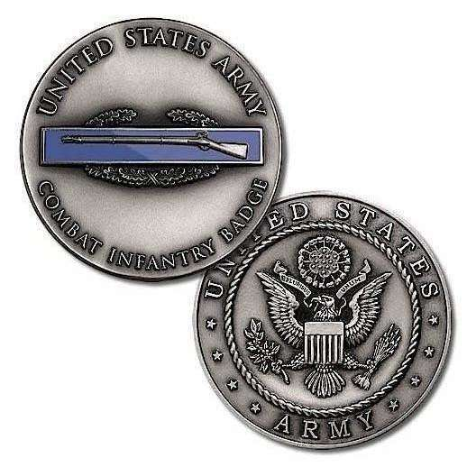 OPSGEAR:Army Combat Infantry Badge Challenge Coin