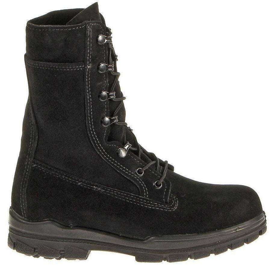 "OPSGEAR:BATES Women's 9"" U.S. Navy Suede Durashocks® Steel Toe Boot"
