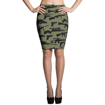 OPSGEAR:Black Green CAMO Skirts
