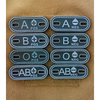 OPSGEAR:BLOOD Type PVC Morale Patch