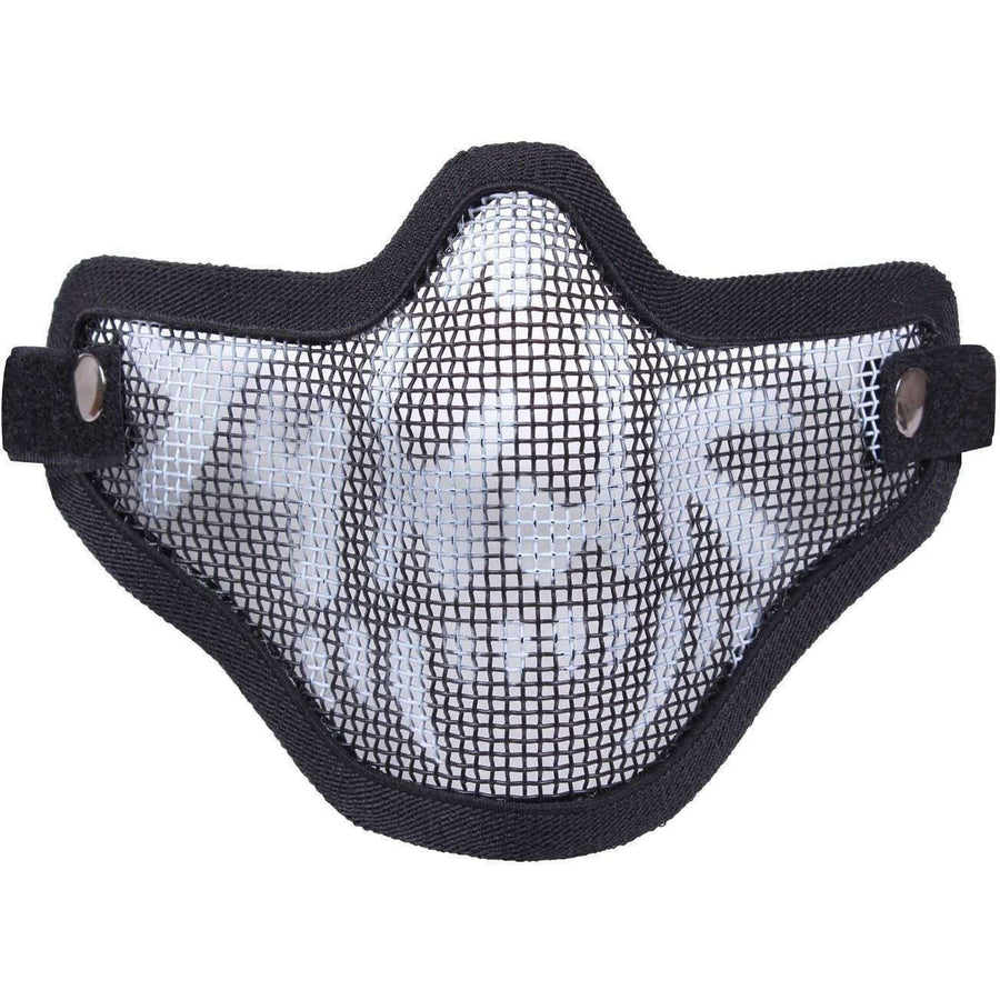 OPSGEAR:Bravo Tac Gear Strike Steel Half Face Mask - Rothco