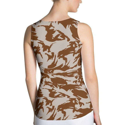 OPSGEAR:British DPM Desert CAMO Sublimation Cut & Sew Tank Top