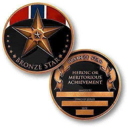 OPSGEAR:Bronze Star Medal Challenge Coin