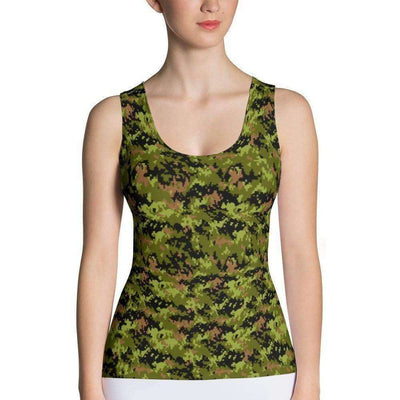 OPSGEAR:Canadian CADPAT CAMO Sublimation Cut & Sew Tank Top