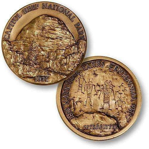 OPSGEAR:Capitol Reef National Park Challenge Coin