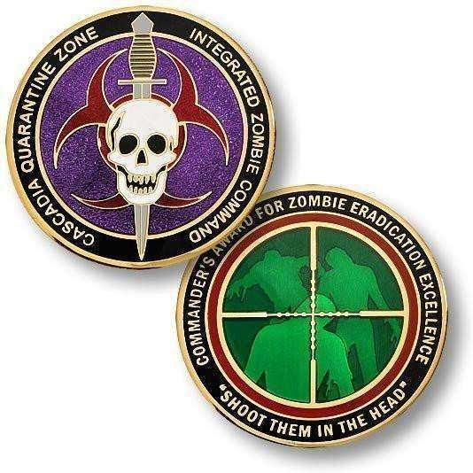 OPSGEAR:Cascadia Quarantine Zone - Commander's Award 1 3/4 inch (44mm)