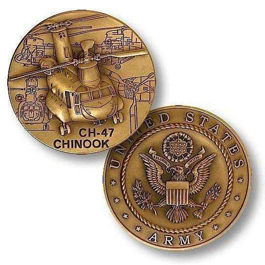 OPSGEAR:CH-47 Chinook Challenge Coin