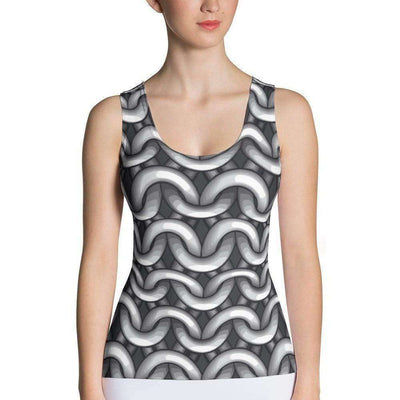 OPSGEAR:Chainmail CAMO Sublimation Cut & Sew Tank Top