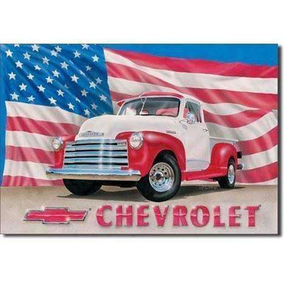 OPSGEAR:Chevy 51 Pickup - Vintage Tin Sign