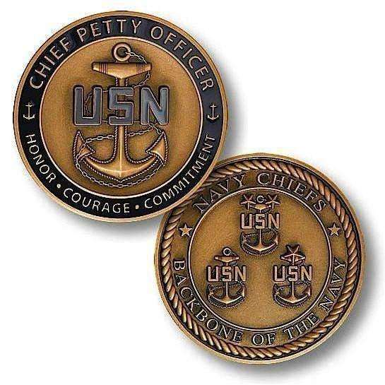 OPSGEAR:Chief Petty Officer Challenge Coin