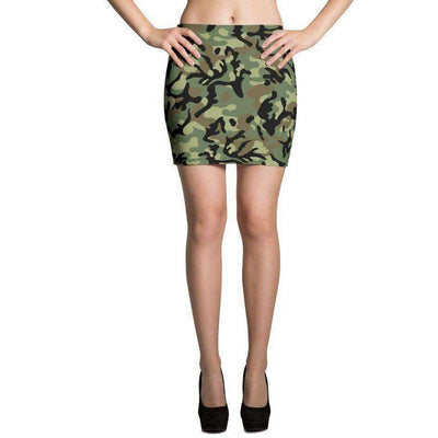 OPSGEAR:Chinese Army Woodland CAMO Mini Skirts