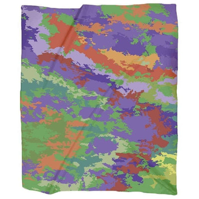 OPSGEAR:Colorful Poisonous CAMO Jersey Blankets