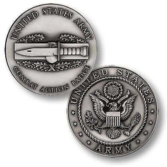 OPSGEAR:Combat Action Badge Challenge Coin
