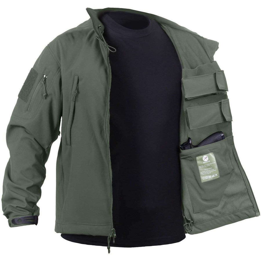 OPSGEAR:Concealed Carry Soft Shell Jacket - Rothco