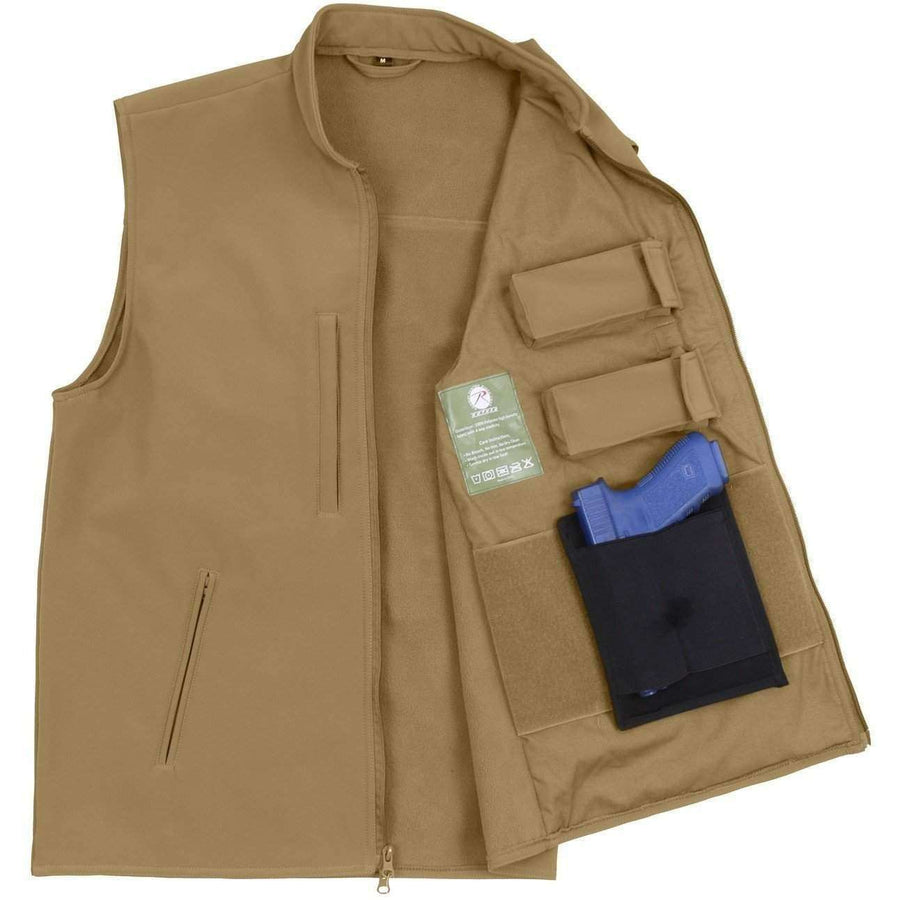 OPSGEAR:Concealed Carry Soft Shell Vest - Rothco