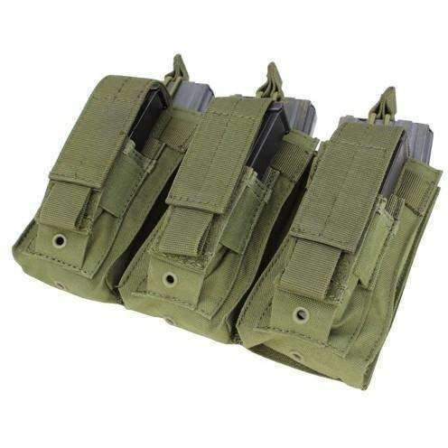 OPSGEAR:Condor MOLLE Triple Kangaroo Mag Pouch