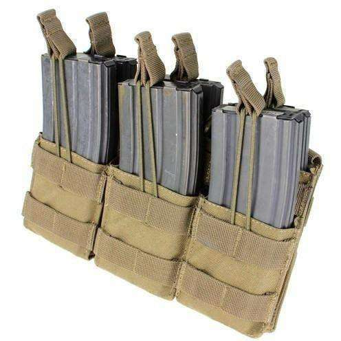 OPSGEAR:Condor MOLLE Triple Stacker M4 Mag Pouch
