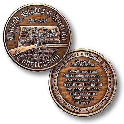 OPSGEAR:Constitution - Second Amendment Challenge Coin