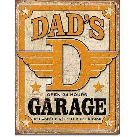 OPSGEAR:Dads Garage - Vintage Tin Sign