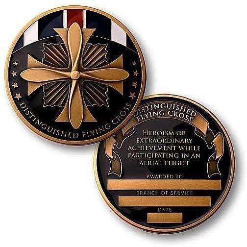 OPSGEAR:Distinguished Flying Cross Medal Challenge Coin