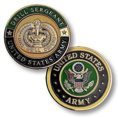OPSGEAR:Drill Sergeant Challenge Coin