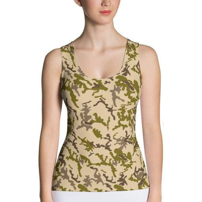 OPSGEAR:Egyptian Desert CAMO Sublimation Cut & Sew Tank Top