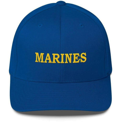 OPSGEAR:Embroidered Flexfit MARINES Low Profile Cap