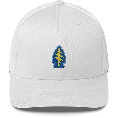 OPSGEAR:Embroidered Flexfit Special Forces Patch Low Profile Cap