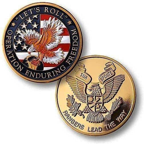 OPSGEAR:Enduring Freedom Rangers Challenge Coin - MerlinGold