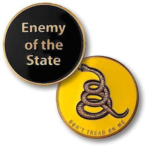 OPSGEAR:Enemy of the State Challenge Coin