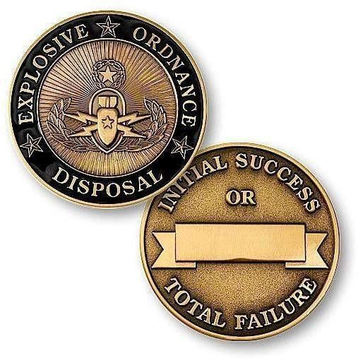 OPSGEAR:Explosive Ordnance Disposal Challenge Coin