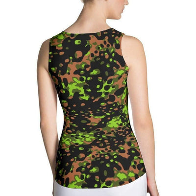 OPSGEAR:German WWII SS PlainTree #6 Spring CAMO Sublimation Cut & Sew Tank Top