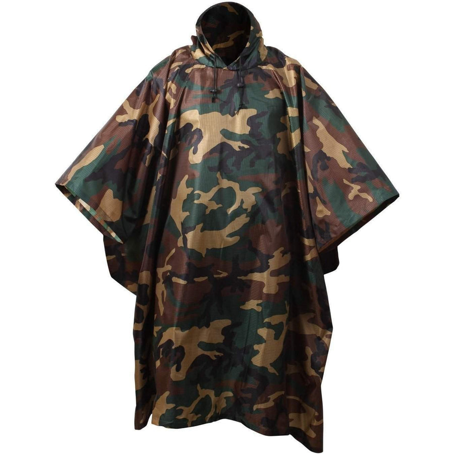 OPSGEAR:G.I. Type Military Rip-Stop Poncho - Rothco