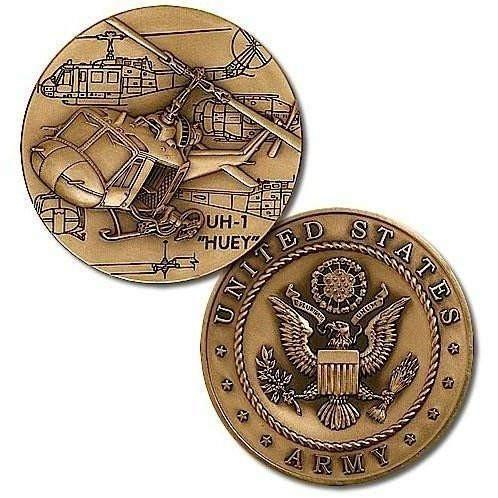 OPSGEAR:Huey Helicopter Challenge Coin