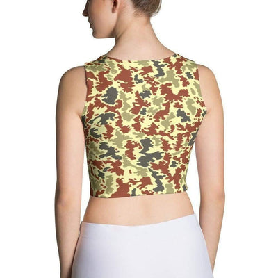 OPSGEAR:Iraqi 1980s Camo Sublimation Cut & Sew Crop Top