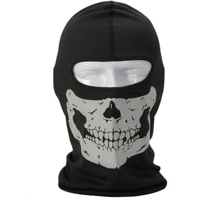 OPSGEAR:Lightweight Skull Full Face Mask and Neck Balaclava